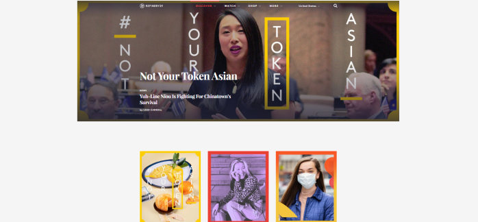 Refinery29 | Asian American homepage