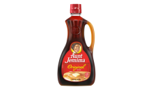 Aunt Jemima Syrup bottle