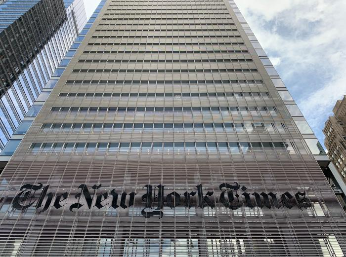 The New York Times building exterior