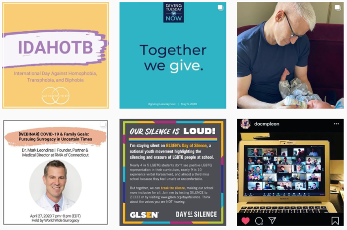 LGBTQ+ Parenting Blogs We Love - @gayparentstobe on Instagram