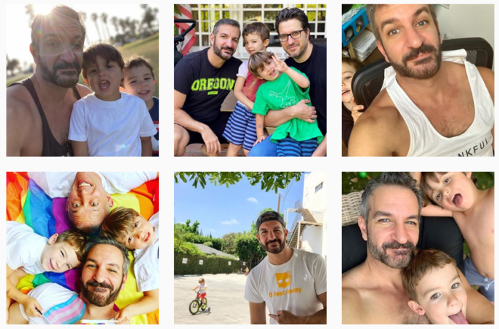 LGBTQ+ Parenting Blogs We Love - @yanirdekel on Instagram