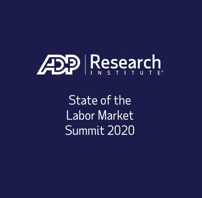 ADP Research Institute, State of the Labor Market Summit 2020