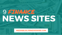 9 Finance News Sites - mediablog.prnewswire.com