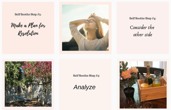 Self-Care Blogs We Love - @selfcarepursuit on Instagram