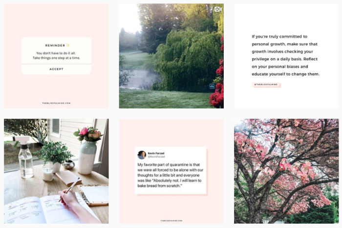 Self-Care Blogs We Love: @theblissfulmind on Instagram