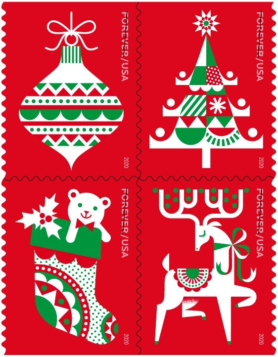 2020 Christmas Stamps Preview On PR Newswire: Christmas Stamps Revealed, CEOs Foresee More