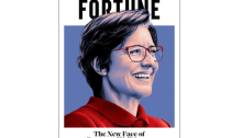 FORTUNE 50 most powerful women in business cover