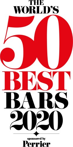 The World's 50 Best Bars 2020, sponsored by Perrier