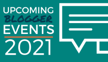 Upcoming Blogger Events - 2021