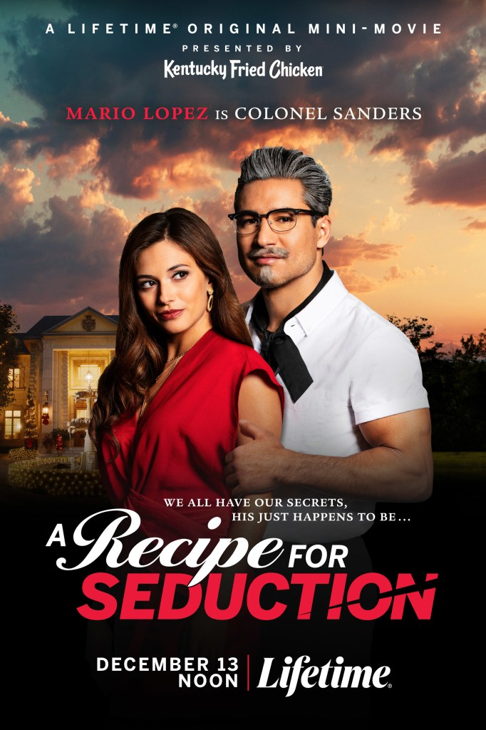Poster for Lifetime Original Mini-Movie presented by KFC - A Recipe for Seduction