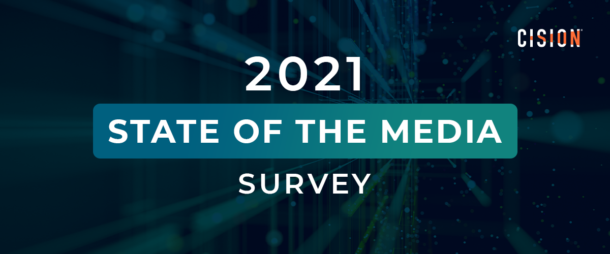 Cision 2021 State of the Media Survey logo