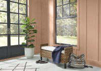 Room painted with Behr's 2021 Color of the Year, Canyon Dusk