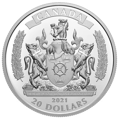 Royal Canadian Mint Black Loyalists silver coin